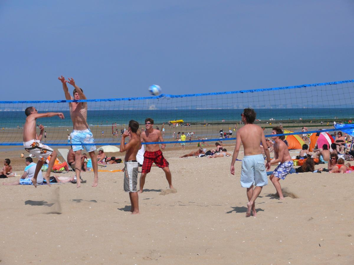 Beach Volley - Tournoi du Casino Tranchant