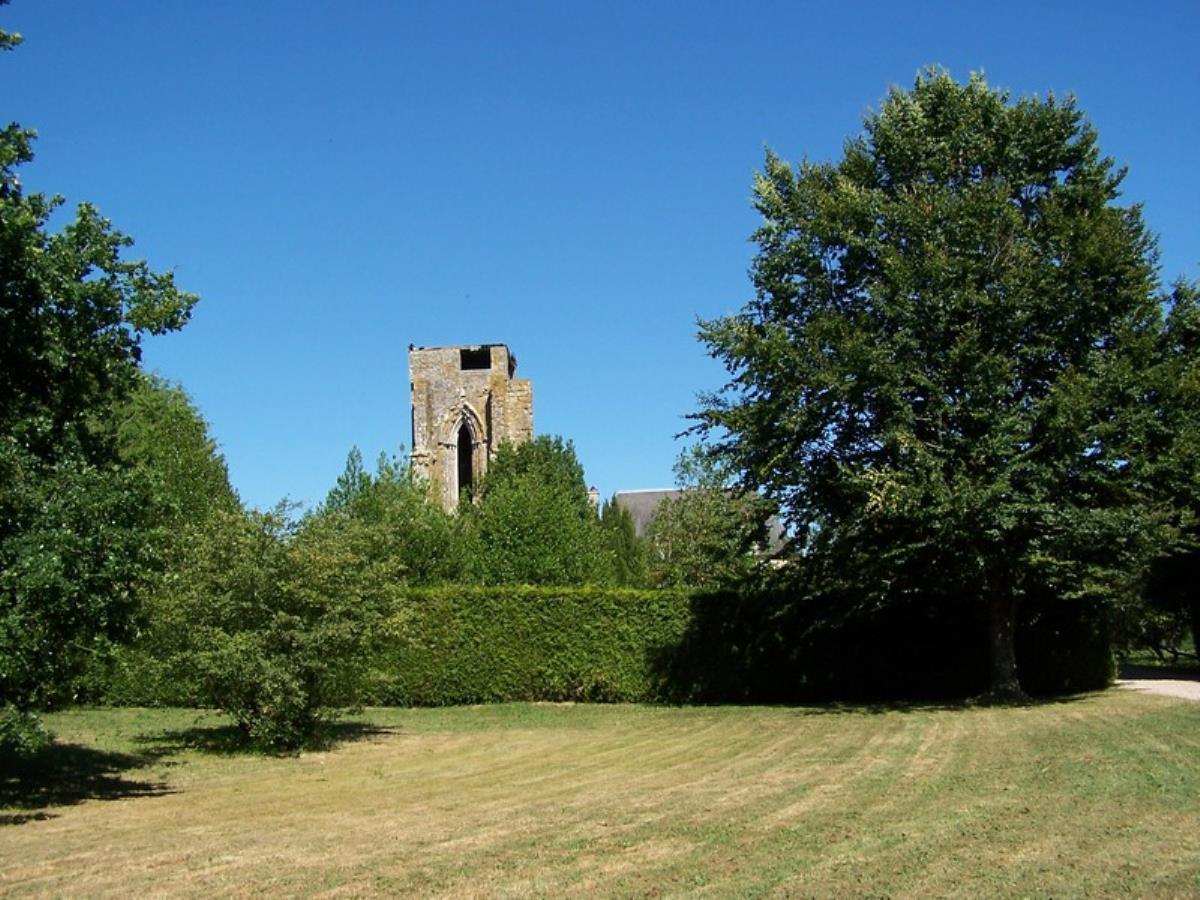Abbaye Saint Etienne à Le Plessis Grimoult