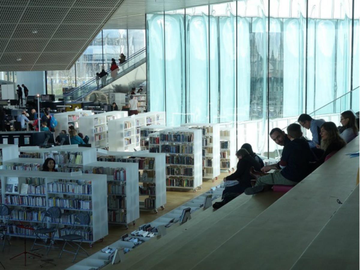 Visite-archi ados/adultes Bibliothèque Alexis de Tocqueville