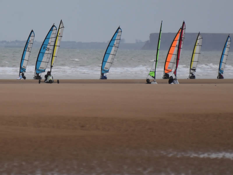 char-a-voile - ©Eolia Normandie