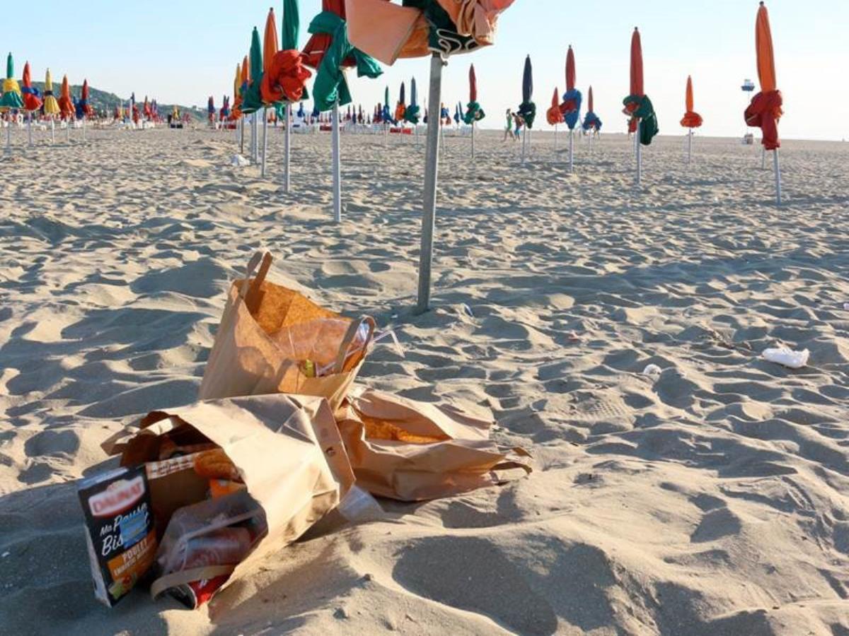 Ramassages collectifs sur la plage