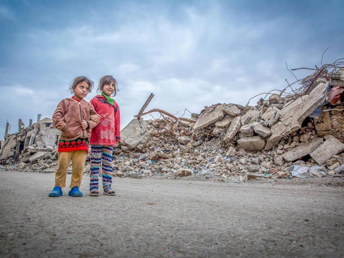Une enfance dans un pays en guerre
