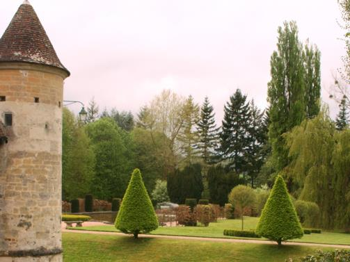 Boutemont Garden in Ouilly le Vicomte