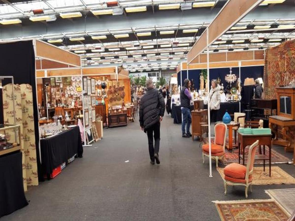 Salon antiquaire brocante