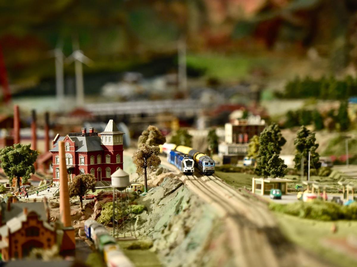Maquette Chemin de Fer Miniature Clécy