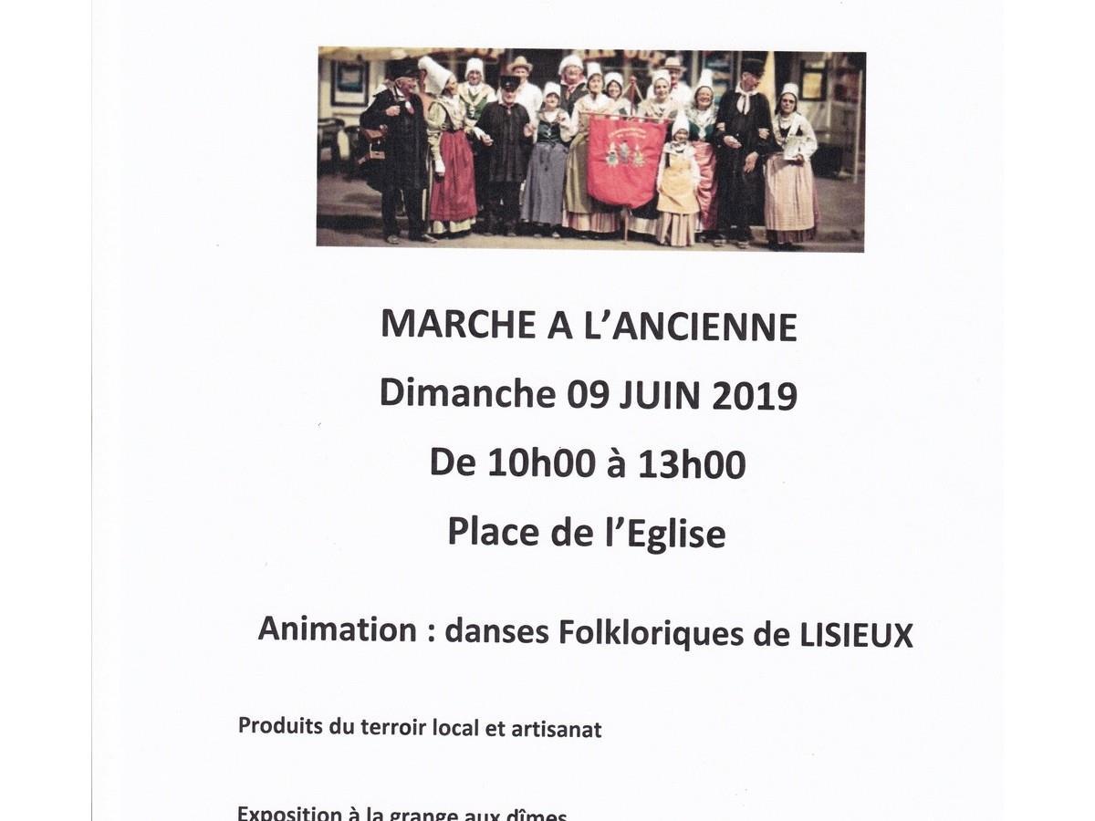 MARCHE à L'ANCIENNE PENTECÔTE  2019  le 09 Juin  à Cambremer