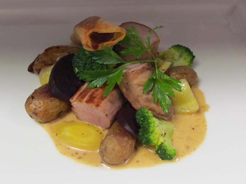 Restaurant au site normand - ©Au site normand