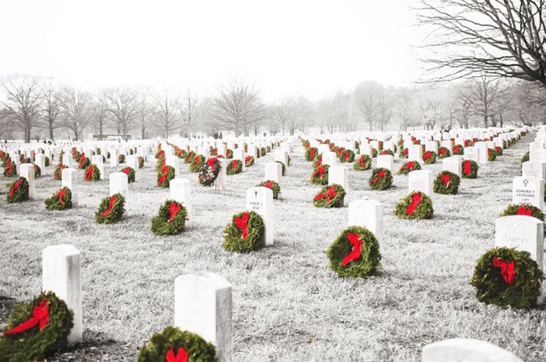 Wreaths Across America au Cimetière Américain de Normandie à Colleville-sur-Mer